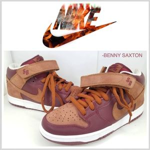 """Nike Dunk Mid Pro SB """"Embarco"""" Team Red/Pony 2007"""